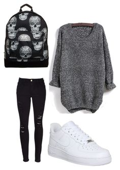 """""""Disneyland"""" by margot-52 ❤ liked on Polyvore featuring Frame Denim, NIKE and Mi-Pac"""