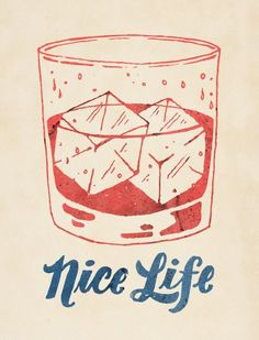 Illustration by Jon Contino Graphic Illustration, Graphic Art, Cocktail Illustration, Graphisches Design, Japanese Graphic Design, Vintage Design, Typography Design, Summer Typography, How To Draw Hands
