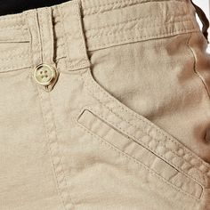 The Collection Beige stitched pocket linen blend trousers- at Debenhams.com