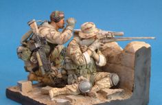 US Sniper Team Afghanistan in 1/16 scale! We now Stock Airborne Miniatures! Click on the pic for more.