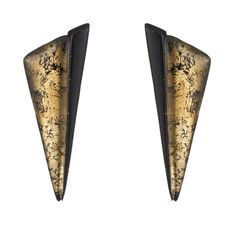 Angled Pyramid Button Clip Earring | Alexis Bittar