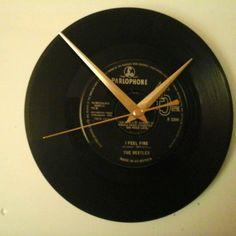 The beatles - I feel fine  7  record  clock  gift birthday xmas
