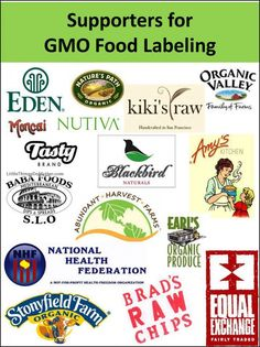 """‎Eden Foods, Nature's Path Organic Foods, Kiki's Raw, Organic Valley, Nutiva, Amy's Kitchen-GO ORGANIC!, Earl's Organic Produce, Stonyfield Farm, Equal Exchange, Blackbird Naturals."" -Grow Food, Not Lawns share"