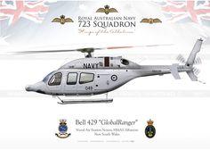 """Bell 429 """"GlobalRanger"""" Medusa Flight RAN JP-1562"""