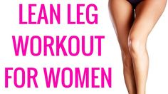 Leg Workout for Women - Get a free new workout or weight loss training every Thursday. Subscribe now!