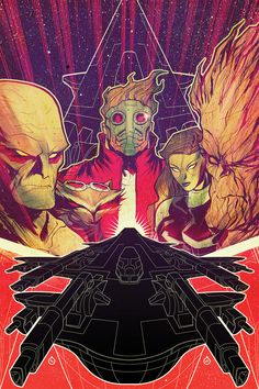 Guardians of the Galaxy by Juan Doe