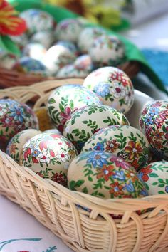 Easter eggs from Poland - hand made!