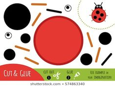 Portfolio di foto e immagini stock di Ksenya Savva Abc For Kids, Games For Kids, Preschool Printables, Preschool Crafts, Felt Crafts Patterns, Fun Activities For Toddlers, Paper Games, Paper Crafts For Kids, Worksheets For Kids