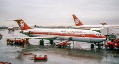 Vintage Air Canada Boeing 727 - via PJ de Jong Canadian Airlines, Major Airlines, Cargo Airlines, Boeing 727, Boeing Aircraft, Air North, Planes, Air Transat, Vintage Air