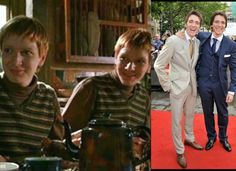 James and Oliver Phelps (Fred and George Weasley)                              …