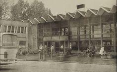 Dworzec autobusowy, ok. 1968 r.