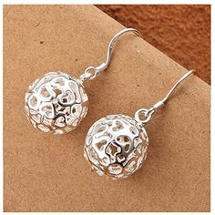 HMILYDYK Genuine 925 Sterling Silver Plated Jewelry Solid...…