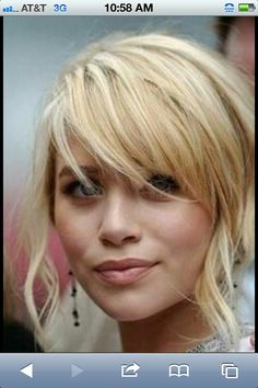I want these bangs!!!