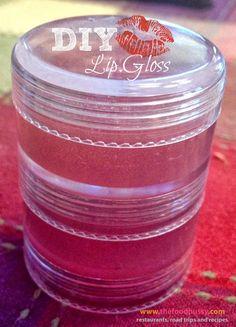 The Food Hussy!: DIY Kool-Aid Lip Gloss - only 3 ingredients!