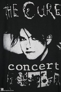 The Cure vintage rare T-shirt, black tee shirt, Robert Smith, The Glove, Siouxsie and the Banshees Room Posters, Band Posters, Poster Wall, Poster Prints, The Cure, Arte Punk, Punk Poster, Siouxsie & The Banshees, Bedroom Wall Collage