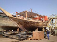 Ali Baba on dry dock in Al Jaddaf