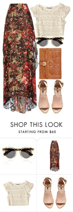 """MQPP"" by krizan ❤ liked on Polyvore featuring Illesteva, Elie Saab, H&M and Matthew Williamson"