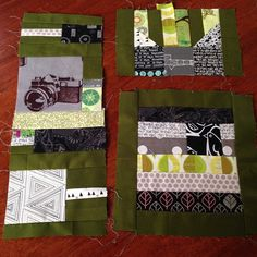 """""""More #patchworkcity this green isn't my favourite"""""""