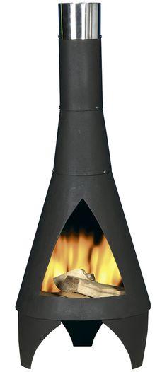 De terrashaard Colorado wordt gekenmerkt door het geweldige brandvermogen. Door zijn formaat en ruime opening kunt u er zonder probleem grote haardblokken in kwijt. De diameter bedraagt aan de onderzijde 60 cm. De pijp, voorzien van een roestvrij stalen ring, heeft een diameter van 13,5 cm en zorgt voor een uitstekende rookafvoer. De Colorado is gemaakt van staal en kan dus tegen een stootje. Nu slechts € 215,95 Colorado, Fireplace Garden, Esschert Design, Modern, Home Appliances, Wood, Outdoor, Products, Haciendas