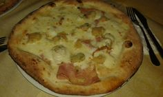 #Pizza #Italian #cheese #cream #crocché #BakedHam #Dinner #Pizzeria #ILovePizza #VeryGood