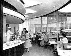 bluecote — Lady Godiva Café, Coventry c.1959 Coventry Blitz, Coventry England, Lady Godiva, Birmingham Uk, Old Things, City, Memories, Photographs, Photos