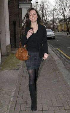 Kate Middleton - Out in London (3 April 2008)