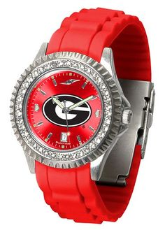 NCAA Georgia Bulldogs Ladies' Sparkle Watch