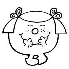 monsieur madame coloriage - Recherche Google Monsieur Madame, Silhouette Portrait, Teaching French, Busy Bee, Illustrations, Little Miss, Diy And Crafts, Applique, Preschool