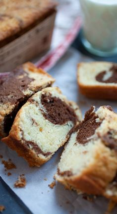Marble cake - BEST-ever buttery and super rich marble cake loaded with chocolate. This is the BEST recipe!!! | rasamalaysia.com