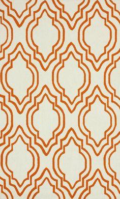 Rugs USA Homespun Moderno Orange Rug - Living Room