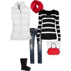 Snowy Day, created by shellyontour.polyvore.com