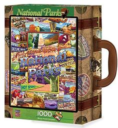 National Parks 1000-piece Puzzle. Celebrate The National Park Service Birthday With National Park Focused Games. Game playing is part of every birthday party, right? It is also a great way to get kids and adults ready to experience the National Parks as well as alternatives to outdoor activities if the weather turns bad during your stay. We found awesome educational games for kids, coloring books for everyone as well as cards, dice, puzzles, board games and more!