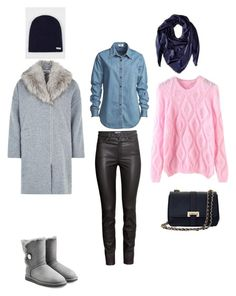 Зимняя прогулка by lukashenko-n on Polyvore featuring мода, Vale, Louche, H&M, UGG Australia, Aspinal of London and Salvatore Ferragamo