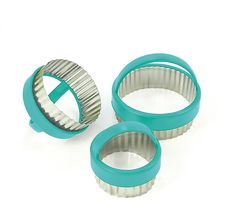 fluted pastry cutters £1.70 each + VAT