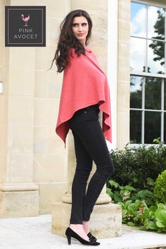 Super-soft #CASHMERE ponchos, so easy to wear, so #elegant so useful and SO many colours! Wear as a #cardigan, #shrug, #shawl, #snood, #button back short....pack small for #travelling, machine wash and wear everyday feeling great!