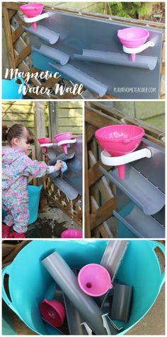 DIY Magnetic Water Wall Pinterest