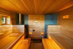 Do you want to create fabulous home sauna design ideas as your home design ideas? Creating a fabulous home sauna sounds great. In addition to making aesthetics in your home, a home sauna is very suitable for you to choose… Continue Reading → Beautiful Home Designs, Beautiful Homes, Hudson Valley, Sauna Diy, Sauna Ideas, Design Sauna, Gym Design, Modern Saunas, Finnish Sauna