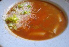 RAJSKÁ POLÉVKA S ŘAPÍKATÝM CELEREM Thai Red Curry, Ethnic Recipes, Food, Essen, Meals, Yemek, Eten