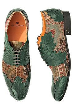 Etro - Men's Accessories - 2013 Fall-Winter - cheap mens black shoes, mens shoes & boots, mens white shoes