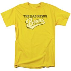 "Checkout our #LicensedGear products FREE SHIPPING + 10% OFF Coupon Code ""Official"" Bad News Bears / Logo - Short Sleeve Adult 18 / 1 - Bad News Bears / Logo - Short Sleeve Adult 18 / 1 - Price: $29.99. Buy now at https://officiallylicensedgear.com/bad-news-bears-logo-short-sleeve-adult-18-1"