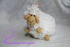 Cute eco-friendly toy Lamb wonderful gift от SlingNecklaceAndToys