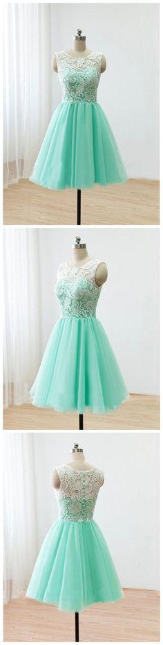 short bridesmaid dress, lace bridesmaid dress, junior bridesmaid dress, mint…