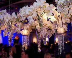 Inspiração: Flores Suspensas para Decoração de Casamento