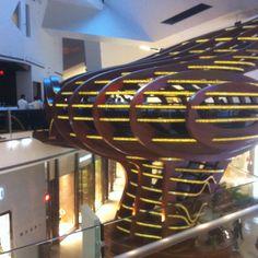It's a restaurant in the sky! Las Vegas City Center