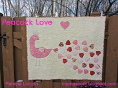 Moda Bake Shop: Peacock Love Mini Quilt