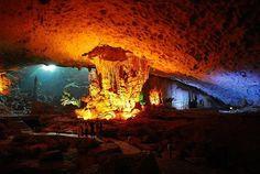 Sung Sot Cave  Halong Bay Vietnam