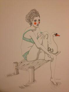 swan, Caroline Cimen