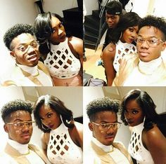 Korede Bello Share Romantic Selfie With Tiwa Savage [PICS]