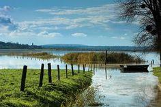 Parc naturel régional des marais du Cotentin et du Bessin dans la Manche