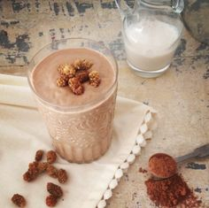 Healthy Chocolate Mousse Smoothie